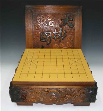Janggi wooden box